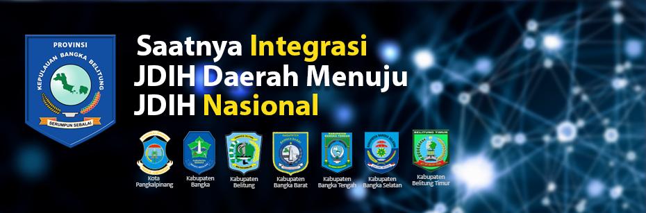 Jaringan Dokumentasi Informasi Hukum Provinsi Kepulauan Bangka Belitung