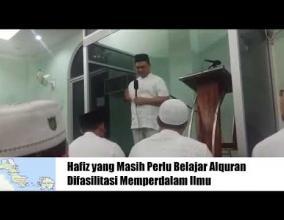 Embedded thumbnail for Gubernur Babel Erzaldi Rosman Ingin Terus Memperbanyak Hafiz